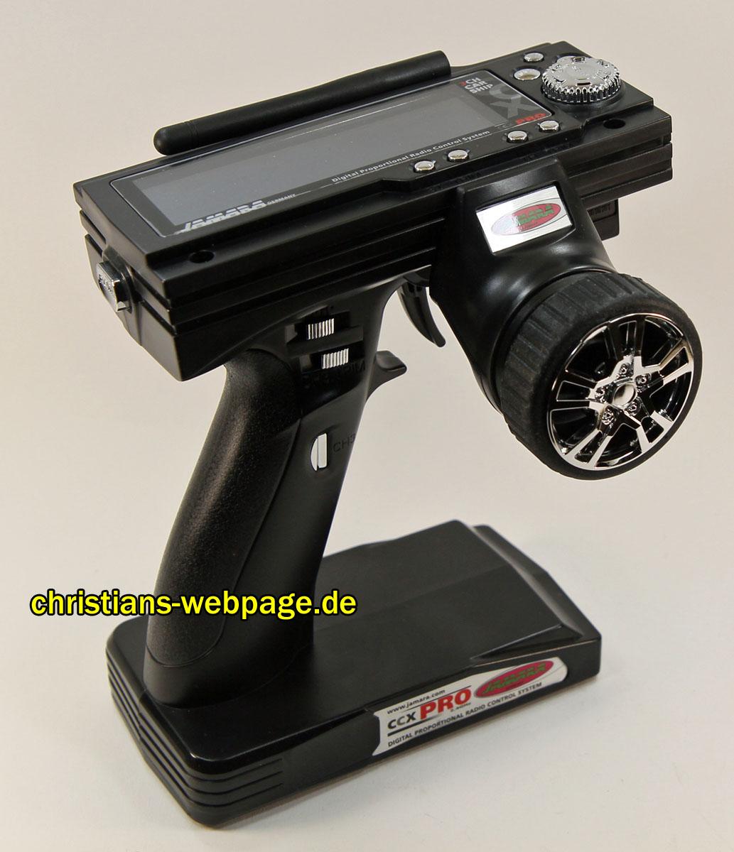 FlySky GT3B / GT3C / Jamara CCX Pro / Ansmann W6 – 3 Kanal
