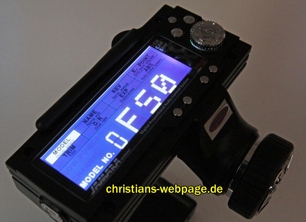 FlySky GT3B / GT3C / Jamara CCX Pro / Ansmann W6 – 3 Kanal Pistolenfernsteuerung Umbaubericht auf 6 Kanal