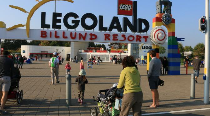 Legoland Dänemark Billund September 2014