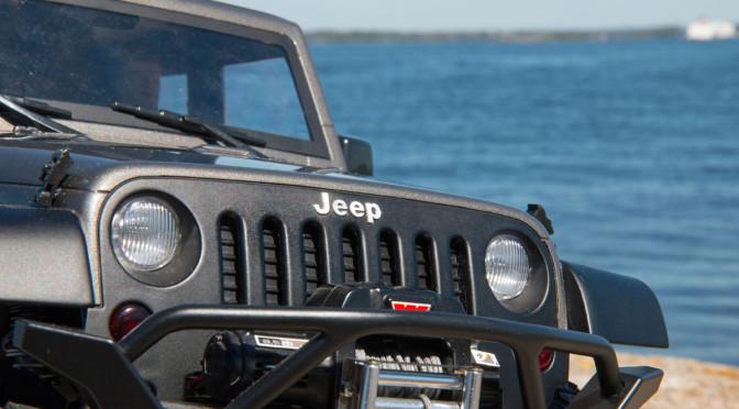 GCM Racing Jeep JK 2 Türer 2D unterwegs in Schweden