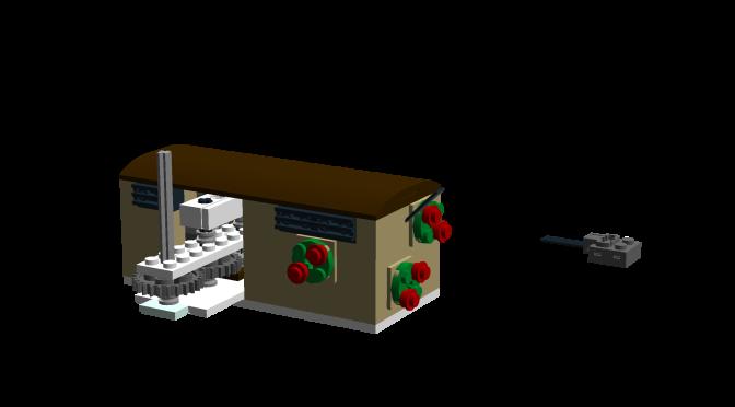 Bauanleitung und Teileliste Motorantrieb für das Lego Karussell 10235