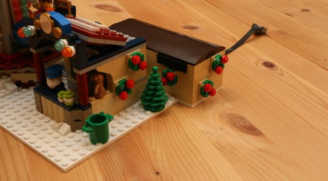 Lego Winterlicher Markt 10235 – Karussell mit Motorantrieb V2 / Winter Village Market motorized V2