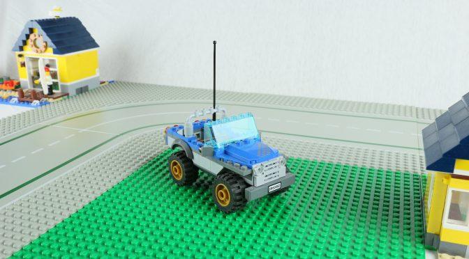 Lego Stop Motion Kurzfilm (Jeep 60082)