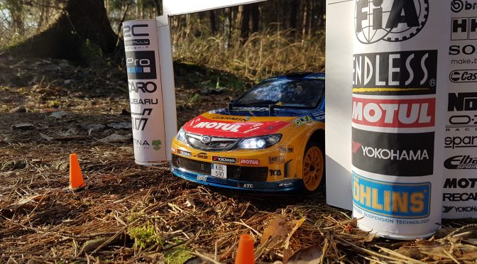 Tamiya XV-01 Rally Subaru WRX STi on Tour