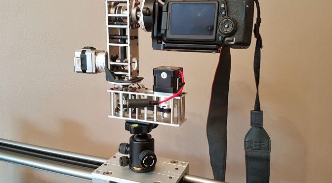 Erweiterung für den Kamera Slider Pano und Tilt